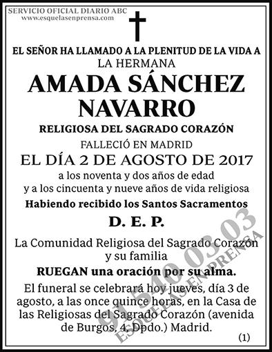 Amada Sánchez Navarro